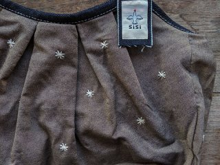GBB-040-BR 刺繍(ブラウン)120%サイズ