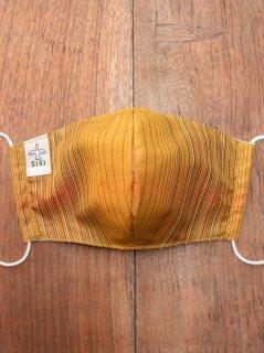 【ご予約商品:お届けは5月15日(土)以降の予定です】布マスク(男女兼用Mサイズ)泥草木染大島紬 M-MSK-OT