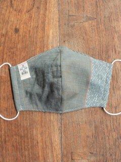 【ご予約商品:お届けは5月29日(土)以降の予定です】バリ島の草木染め布マスク(男女兼用Mサイズ)