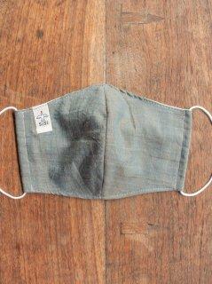 【ご予約商品:お届けは5月29日(土)以降の予定です】バリ島の草木染め布マスク(男女兼用Lサイズ)
