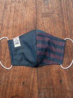 【ご予約商品:お届けは5月6日(木)以降の予定です】バリ島の草木染め布マスク(男女兼用Mサイズ)