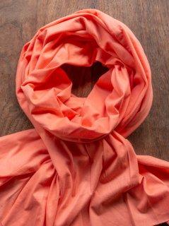 【ご予約商品:お届けは11月4日(木)以降の予定です】ハーフストール(オレンジピンク)
