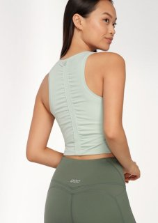 LORNA JANE(ローナジェーン)Runched Cropped Active Tank/ランチドクロップトアクティブタンク