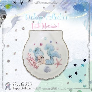 転写紙 『Little Mermaid-vintage collection』 白磁 陶芸 焼成用 A4サイズ【Roi&Li'l】ポーセリンアート