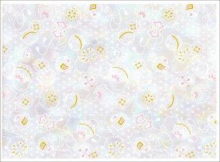 転写紙 『オーロラ転写紙-結』 白磁 陶芸 焼成用 A4サイズ