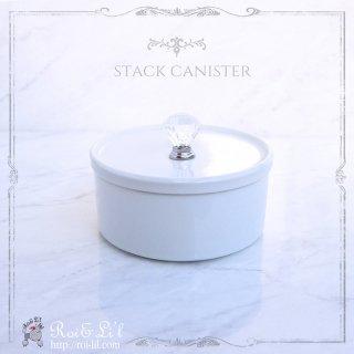 白磁 『スタックキャニスター/S・Mサイズ』