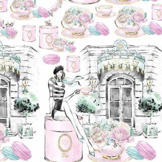 【プライスダウン】インテリアタイルアート転写紙 『La Patisserie-ラ・パティスリーVer.2』 A3