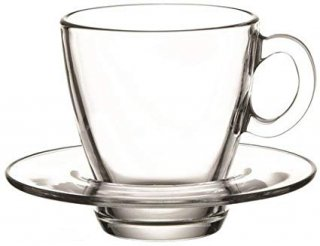 ガラス 『リル カップ&ソーサ—』