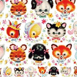 転写紙 『Vintage Animal - ヴィンテージアニマル』 A4