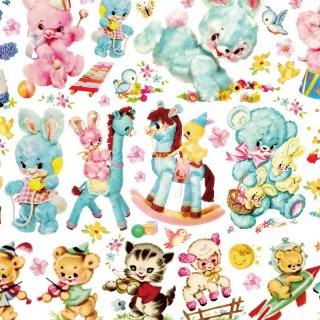 転写紙 『Doll Animal - ドールアニマル』 A4