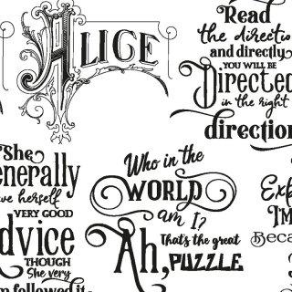 転写紙 『Alice Word-アリスワード』 A4