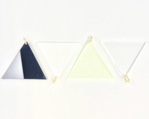 アクリルパーツ トライアングル(4色セット)<br>