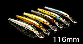 STYX Minnow 116mm 12.5g Floting(ステイクスミノー)