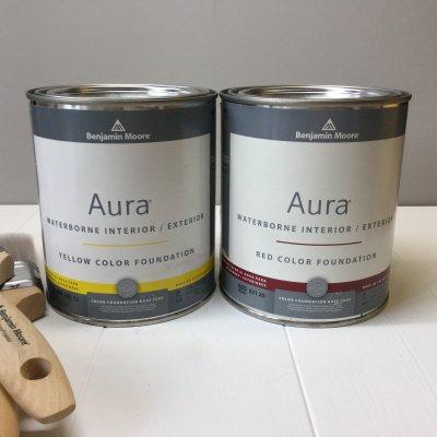 Aura オーラ カラーファウンデーション 0.9L