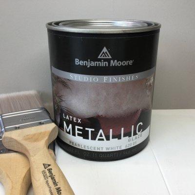 Metallic PearlecentWhite 620-01 BMP11 ベンジャミンムーア