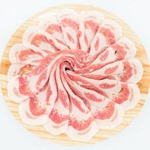 【蔵尾ポーク】肩ロース(薄切り・生姜焼き・焼肉・ステーキ)100g
