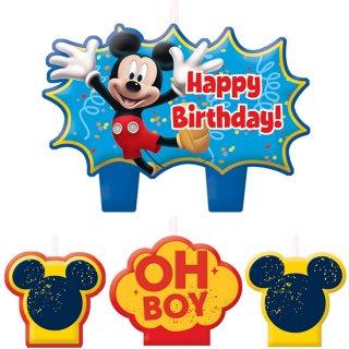 ディズニーキャンドル ミッキー<br>【Disney Mickey】