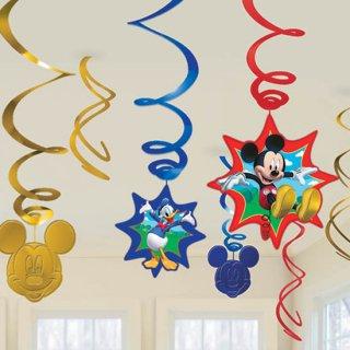 スワールデコレーション ミッキー<br>【Disney Mickey】