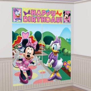 ウォールデコレーション ミニー&デイジー<br>【Minnie&Daisy】