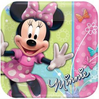 ペーパープレートM ミニー<br>【Disney Minnie】