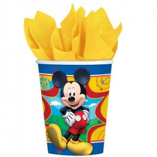 ペーパーカップ9oz ミッキー<br>【Disney Mickey】