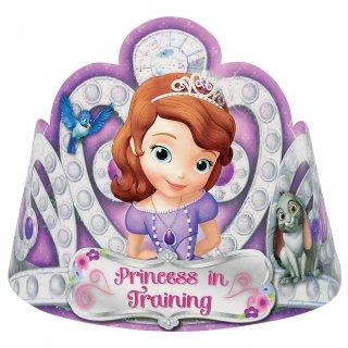ペーパーティアラ(8枚入り) ソフィア<br>【Disney Sofia】