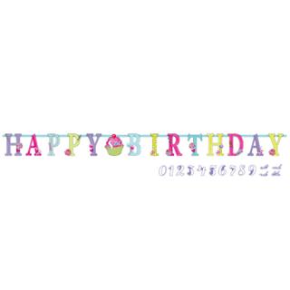 バースデーレターバナーL スウィーツ<br>【Sweet Birthday】