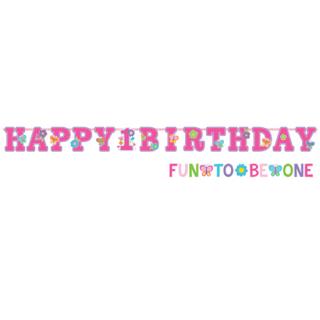 バースデーレターバナーL スウィートバースデーガール<br>【Sweet Birthday Girl】