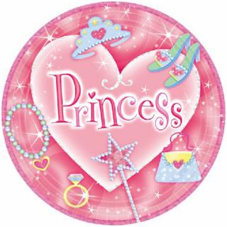 ペーパープレートM プリンセス<br>【Princess】