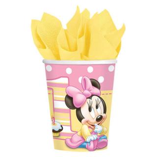 ペーパーカップ9oz ベビーミニー<br>【Disney Baby Minnie】