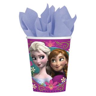 ペーパーカップ 9oz アナ&エルサ 8個入【アナと雪の女王】 【Disney】