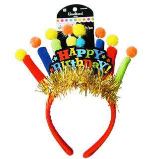 ヘッドバンド キャンドル<br>【Birthday Candle】