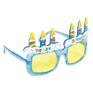 パーティーグラス ブルー<br>【Birthday Blue】