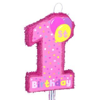 ピニャータ 1stバースデーガール<br>【1st Birthday Girl】