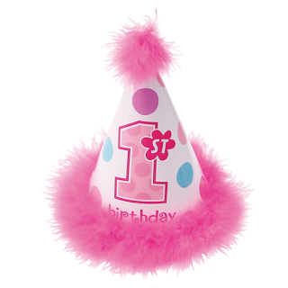 コーンハットSS 1stバースデーガール<br>【1st Birthday Girl】