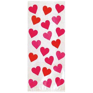 セロバックL キューティーハート セロファン袋【Cutie Heart】