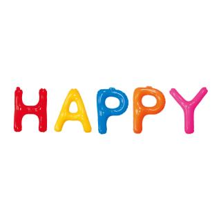エアポップレターバルーンM ハッピーセット<br>【Happy Set】