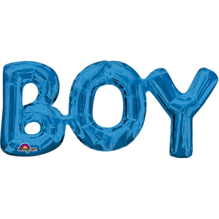 レターバルーン ボーイ ブルー<br>【Boy Blue】