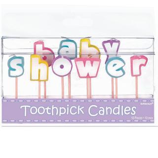 バースデーキャンドル ベビーシャワー<br>【Baby Shower】
