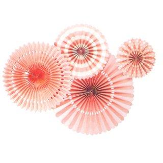 ペーパーファンセット コーラルピンク<br>【Coral Pink】
