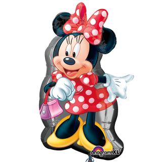 キャラクターバルーンM ミニー<br>【Disney Minnie】