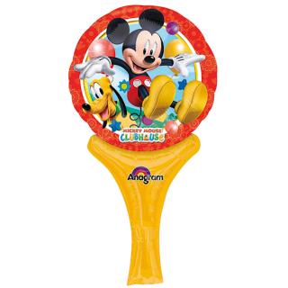 ステッキバルーン ミッキー<br>【Disney Mickey】