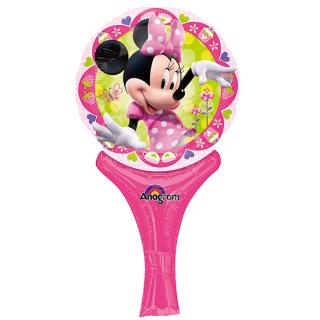 ステッキバルーン ミニー<br>【Disney Minnie】