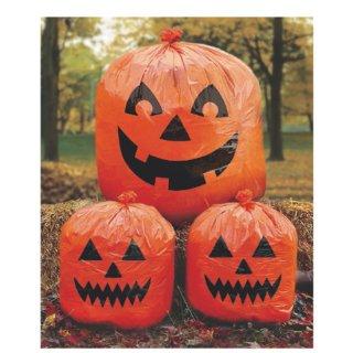 ハロウィン ジャックオーランタン ポリ袋 ハロウィンローンバッグス かぼちゃ<br>【HALLOWEEN】
