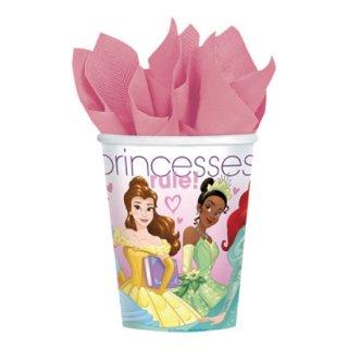 ペーパーカップ 9oz  ディズニープリンセス プリンセスドリーム 8個入 【Disney Princess】