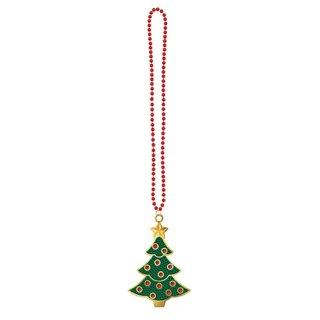 クリスマスパーティー  ブリングネックレス クリスマスツリー 【 Christmas 】