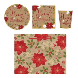 【クリスマス】テーブルウェアギフトセット メリーリトルクリスマス【Christmas】
