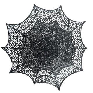 ハロウィン プレイスマット スパイダーウェブ 蜘蛛の巣 ランチョンマット テーブルマット【HALLOWEEN】