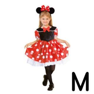 【子供用】コスチューム   仮装  チャイルド  M  ディズニー  ミニー   【Disney Minnie】