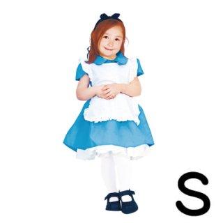 【子供用】コスチューム   仮装  チャイルド  S  ディズニー  アリス   【Disney】